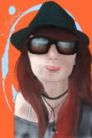 Sunglasses and Hat equals Cool by japochinezul