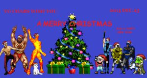 VGChars Merry Christmas 2013 by Gery850
