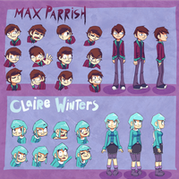 Max and Claire Roations + Emotions by FrostDrive