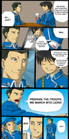 Archer Comic by silana