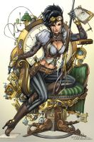 Lady Mechanika by SquirrelShaver