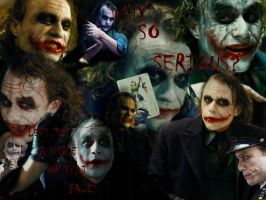 Joker Wallpaper by harperc