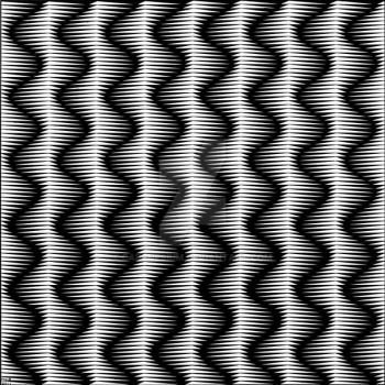 Jagged Sine Waves 4 by carchesium