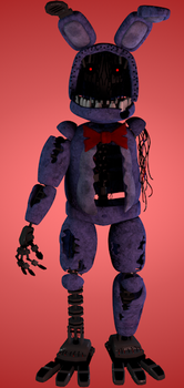 Withered old bonnie by luizcrafted