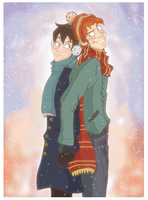 Fred x Nox Christmas 2012 by Weasley-Detectives