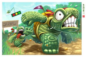 TurtleRace by Wenart