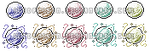 PIXEL ORBS by icedpoison