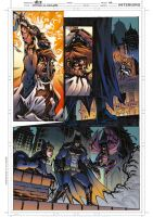 Batman VS Crusader 04 - Colors  -  Test Page by darnof