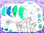 Paddlas [closed] Species Sheet by Policedrone