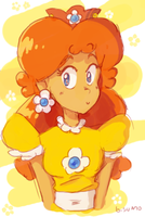 Doodle Daisy by bulgariansumo