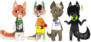 Animal crossing batch 3 by Cervides
