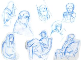Airport Gestures by Otacon144