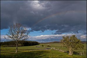 The rainbow by LiveInPix