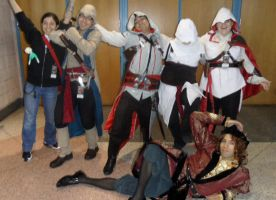Metrocon 2012: Assassin's Creed - Good Times by Cynuyasha