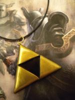 LoZ Triforce Necklace by Noviel