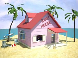 Kame House Vray by azeta