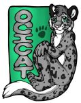 Conbadge - Ocicat by arazia