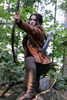 Katniss Everdeen by moonflower-lights