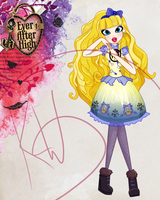Ever After High: Blondie Lockes by Kings-of-Queens