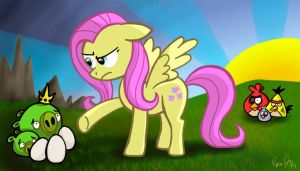 Fluttershy Sets Things Right by petirep