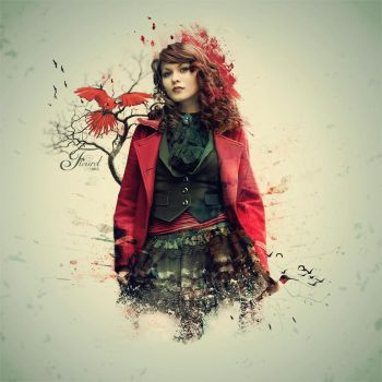 Red feeling by Pristy
