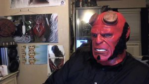 Hellboy Mask by TIOLIROB
