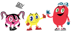 Pac-Man and Friends by DemoComics