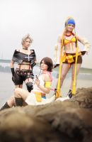 Final Fantasy: Trio by Amapolchen