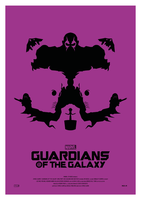 GUARDIANS OF THE GALAXY Poster Art by RicoJrCreation