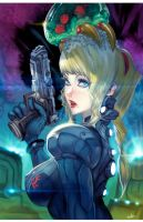 Samus Zero Savior by elsevilla