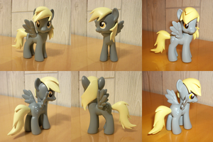 Derpy Hooves Sculpted Mane Custom by PrettyKitty