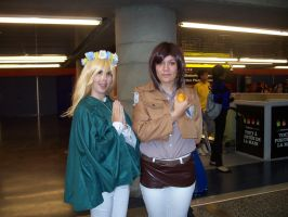 Historia Reiss and Ymir - Otakuthon 2014 by J25TheArcKing