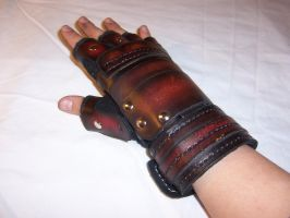 Leather Gauntlets 003 by Altitude-Artisan