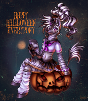 HAPPY HALLOWEEN by LimreiArt