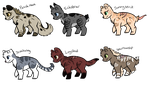 NYP Warrior cats adopts by ThePotato-Queen