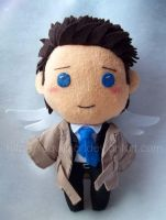 Shy Castiel by sequinjar