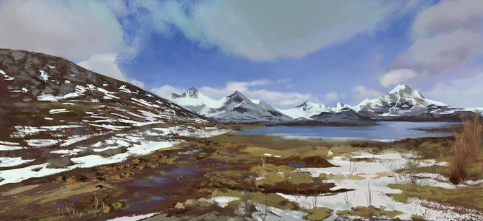 Virtual Plein Air 1 by LeeshaHannigan