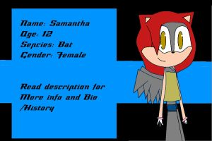 Sam's New look, Ref and Bio by miss-glam-flipnote
