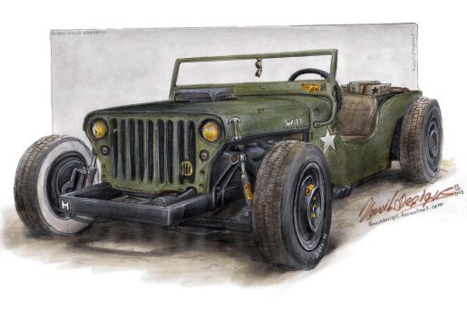 Willys gone Ratty by HorcikDesigns