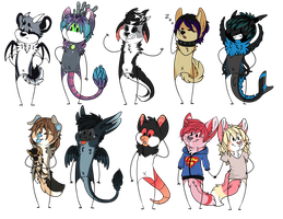 Stick Figures Batch 05 by FlSHES