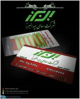 Alborz visit card... by abgraph