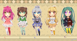 +-+Adoptables Card Games Lolis+-+ #HURRY! by hyuugalanna