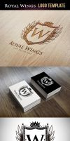 Royal Wings Logo Template by odindesign