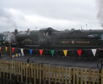 GWR 3717 City of Truro at Railfest 2012 by rlkitterman