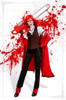 Grell Sutcliff cosplay 6 by The-Irstress