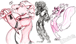 FE2012 - Sketches by Eevachu