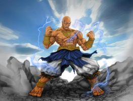 Heihachi - Wind God - Tekken by visualinfinity
