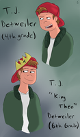 T.J. 'King Theo' Detweiler by CelestialSymphony