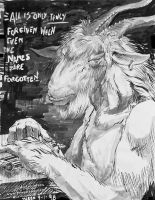 Satyr Goatman Forgiven by ponyhome