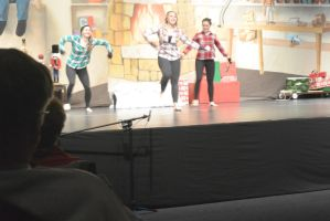 The Dance Company Christmas Show, Snowball Fight 2 by Miss-Tbones